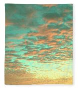 Aqua Heaven Fleece Blanket