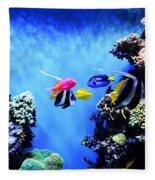 Aquarium 1 Fleece Blanket