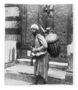 Arab Waterboy, C1900 Fleece Blanket