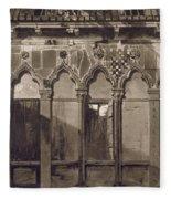 Arabian Windows, In Campo Santa Maria Fleece Blanket