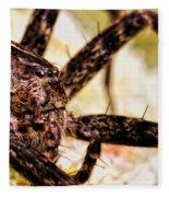 Arachnophobia Fleece Blanket