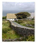 Aran Cottage Fleece Blanket