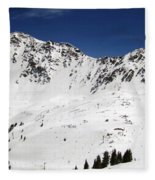 Arapahoe Basin Ski Resort - Colorado          Fleece Blanket