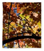 Arboretum Fall Fleece Blanket