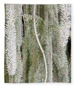 Arboretum Hoar Frost 2 Fleece Blanket