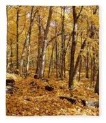 Arboretum Trail Fleece Blanket