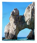 Arch At Land's End Fleece Blanket