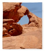 Arch At Valley Of Fire State Park Fleece Blanket