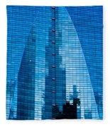 Arch In Glass Fleece Blanket