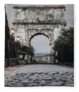 Arch Of Titus Morning Glow Fleece Blanket