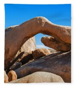 Arch Rock - Joshua Tree National Park  Fleece Blanket