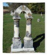 Arch Tombstone2 Fleece Blanket