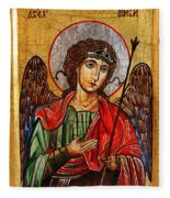 Archangel Michael Icon Fleece Blanket