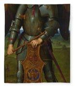 Archangel Michael Fleece Blanket