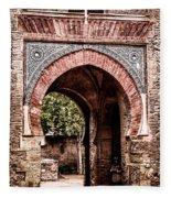 Arched  Gate Fleece Blanket