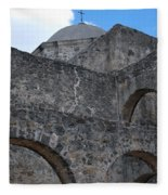 Arches And A Cross Fleece Blanket