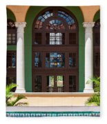 Arches And Doors At The Biltmore Fleece Blanket