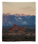 Arches National Park Fleece Blanket