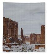 Arches Park Avenue Fleece Blanket