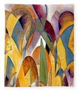 Arches Fleece Blanket by Rafael Salazar