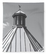 Architectural Gray Fleece Blanket