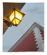 Architecture And Lantern 3 Fleece Blanket