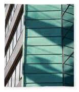 Architecture And Shadows Fleece Blanket