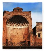 Architecture Of Italy Fleece Blanket