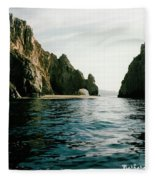 Archway At Cabo Fleece Blanket
