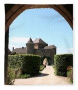 Archway Chateau Of Berze Fleece Blanket