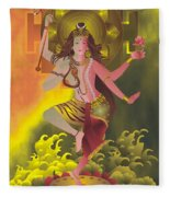 Ardhanareeswara  Fleece Blanket