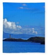 Ardnamurchan Lighthouse 4 Fleece Blanket