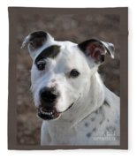 Are You Looking At Me? Fleece Blanket