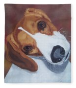 Are You Talking To Me? Fleece Blanket