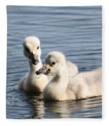 Aren't You Going To Share? Fleece Blanket