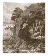 Aristeus Compels Proteus To Reveal Fleece Blanket