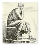 Aristotle Fleece Blanket