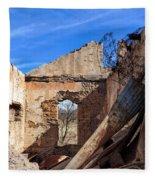 Arivaca Ruins Fleece Blanket