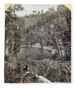 Arizona Apache Lake, 1873 Fleece Blanket