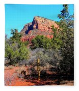 Arizona Bell Rock Valley N3 Fleece Blanket