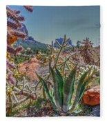 Arizona Bell Rock Valley N7 Fleece Blanket