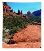 Arizona Bell Rock Valley N8 Fleece Blanket