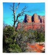 Arizona Bell Rock Valley 1 Fleece Blanket