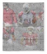 Arizona Cardinals Legends Fleece Blanket
