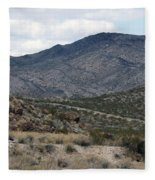 Arizona Mountains Fleece Blanket