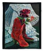 Arizona Rose Fleece Blanket