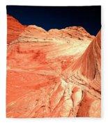 Arizona Sandstone Waves And Lines Fleece Blanket