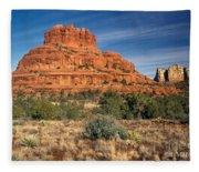Arizona Sedona Bell Rock  Fleece Blanket