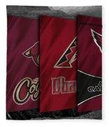 Arizona Sports Teams Fleece Blanket