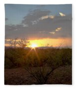 Arizona Sunset Fleece Blanket